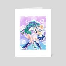 Bubble Love - Art Card by Gelsey Jian