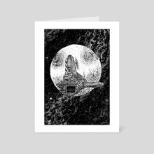 Adrift - Art Card by Jonathan La Mantia