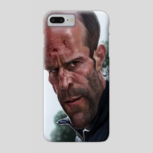 Jason Statham - Phone Case by Alexander Novoseltsev