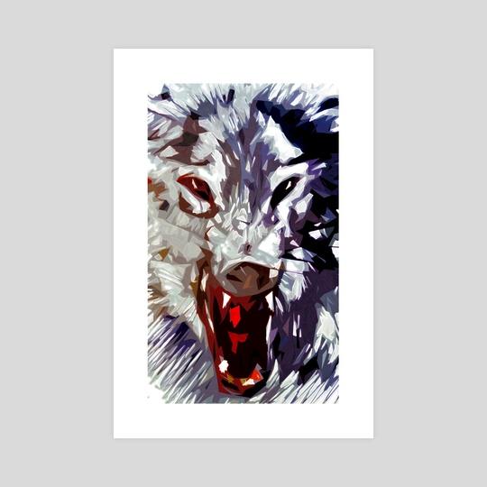 Wolf Face by Emanuele Califano Lidak