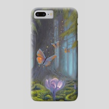 Deep Forest Secrets - Phone Case by Arthur Herring