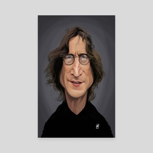 John Lennon - Canvas by Rob Snow