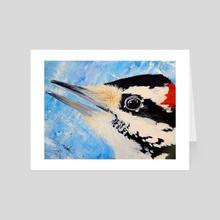 Woodpecker - Art Card by Jason Vukovich