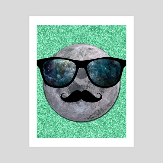 HIPSTER MOON by Gloria Sánchez
