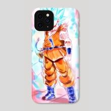 SSJ Blue Goku - Phone Case by MARK CLARK II