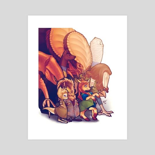 Non-Terran Crewmembers by En Gingerboom