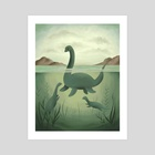 Nessie - Art Print by Vanessa Stephens