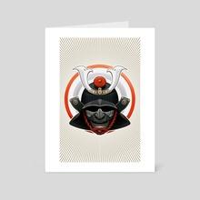 Samurai - Art Card by Shingo Shimizu