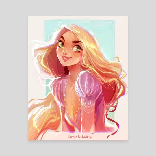 Rapunzel by Lydia Elaine