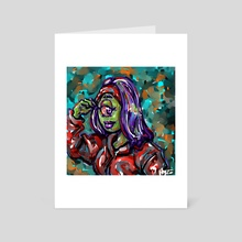 Head band beauty - Art Card by HYZO