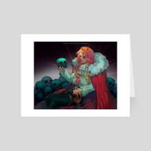 Skulls for the skull throne - Art Card by Jeya S