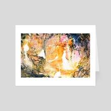 SHENWEI'S DREAM WITH KUNLUN - Art Card by BREEZE WONG