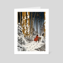 Winter - Art Card by Milsae Kim