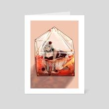 Rose - Art Card by Lyome Luv