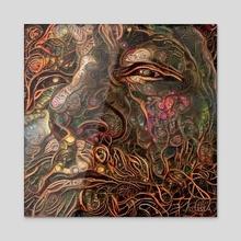 Wisdom - Acrylic by Bruce Rolff