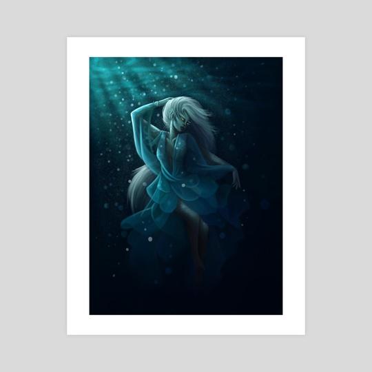 Underwater Creature  by Jelena Jakusenko
