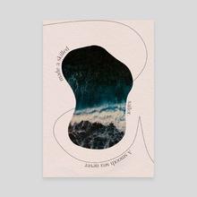 A smooth Sea - Canvas by Maria Katsara