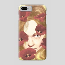 stay strong spring - Phone Case by Ferran Sirvent