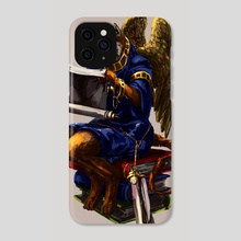 The Winged Scholar - Phone Case by Paul Geronimos