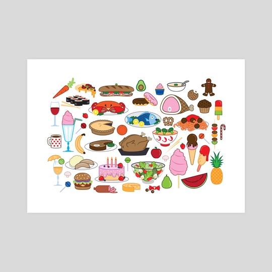 Food Glorious Food by Jennifer Smith