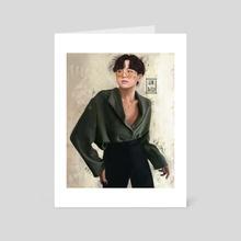 Stylish Yoongles - Art Card by Halah N