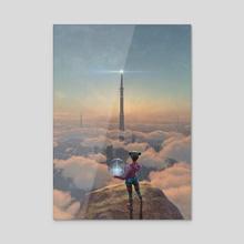 The Beacon - Acrylic by Antonio Caparo