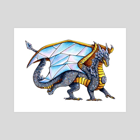 Diamond Dragon by Delyth Thomas