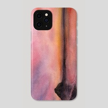 Sunset on the beach - Phone Case by Phoebe  Zeng