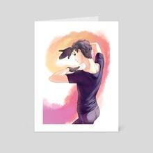 Yuri - Art Card by hikca