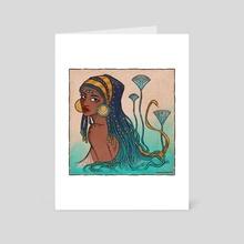 Water Entity - Art Card by Vanessa Ninona