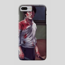 Hannibal - Phone Case by Beverly-Anne Ward