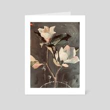 Magnolias - Art Card by Jenny Doh