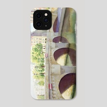 Paris, Pont neuf - Phone Case by Jean-Sylvain Lapouge