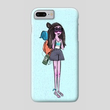 Granola Fashion Study - Phone Case by Brooklyn Walker