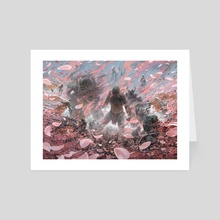 Winds of Abandon - Art Card by Noah Bradley