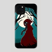 Red Riding Hood 2 - Phone Case by Indré Bankauskaité