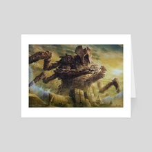 Lord of Extinction - Art Card by Jason Engle