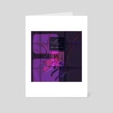 Take a Deep Breath - Art Card by 3am in jupiter