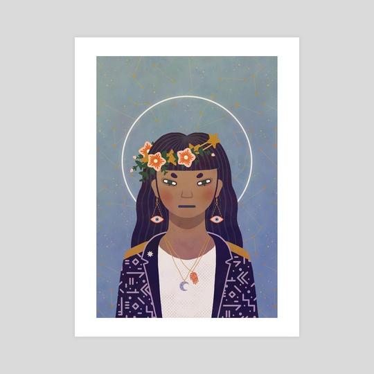 Celestial Portrait by Camille Chew