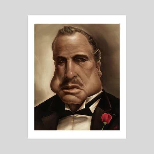 Don Vito Corleone by Rafael Rivera