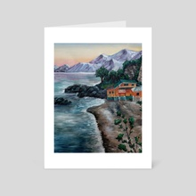 Sorrento - Art Card by Audrey Williams