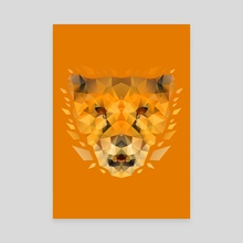 Cheetah Orange #2 - Canvas by Imagi  Factory