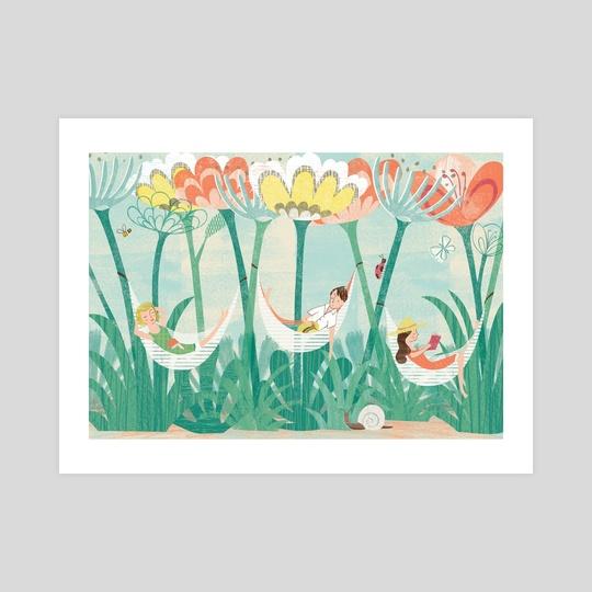Garden Holiday by Angela Keoghan
