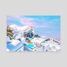 Greece Dreams - Canvas by 83 Oranges