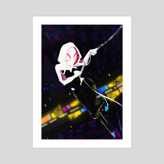 SpiderGwen by Dáire  Lawlor