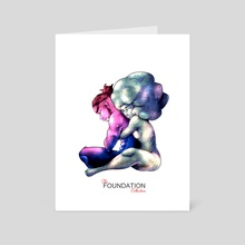 Foundation Series 2 - Art Card by jimmy vaughn