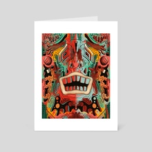 Happy Boy - Art Card by Jesse Laird