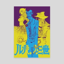 Lupin the Third - Canvas by Artyom Trakhanov