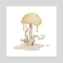 100% normal specimen of fungus fusili - Canvas by Beee