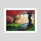 Enchanted forest - Art Print by Melissa Falconi